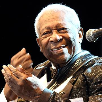 Tributo a B.B. King no Brasil contará com presença da filha do Rei do Blues Background