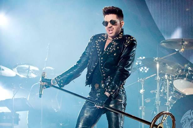 """Veja apresentação de Adam Lambert no """"American Idol"""" Background"""
