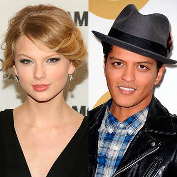 Bruno Mars e Taylor Swift podem se apresentar no VMA 2015 Background