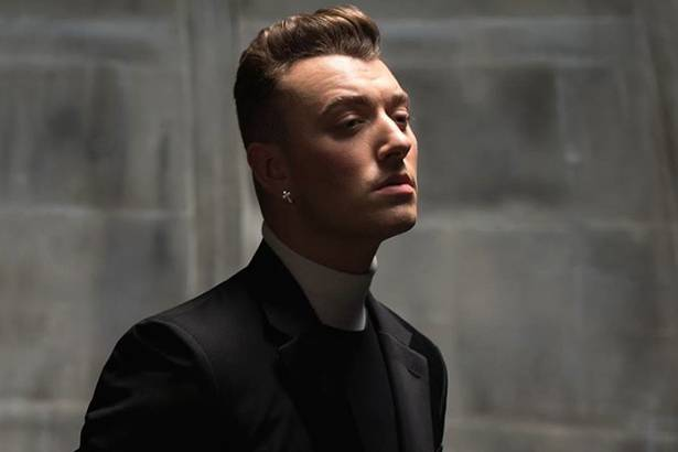 "Sam Smith libera o single ""Writing's On The Wall"" Background"
