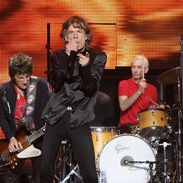 The Rolling Stones lança novo disco Sticky Fingers Live Background