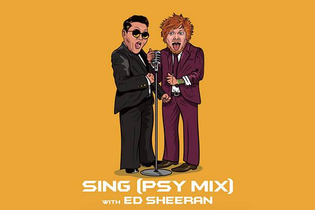 """Sing"", de Ed Sheeran, ganha remix feito por PSY Background"