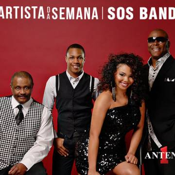 SOS Band é o Artista da Semana na Antena 1! Background
