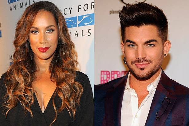 Veja Adam Lambert e Leona Lewis cantando juntos Background