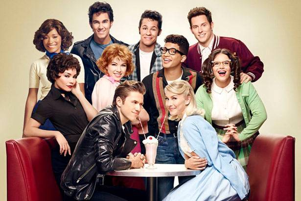 "Saiba como foi o especial ""Grease: Live"" Background"