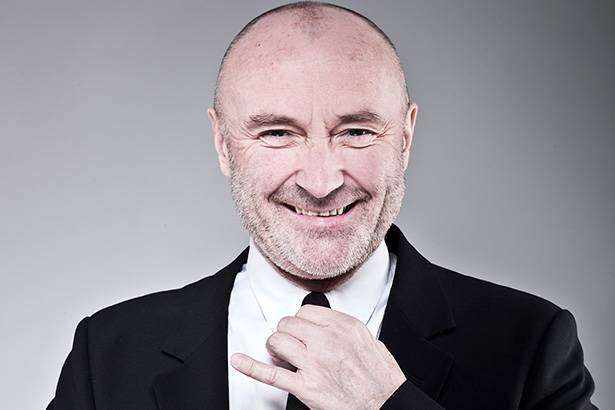 Phil Collins cantará em show beneficente Background