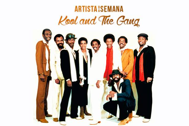 Kool & The Gang é o Artista da Semana! Background
