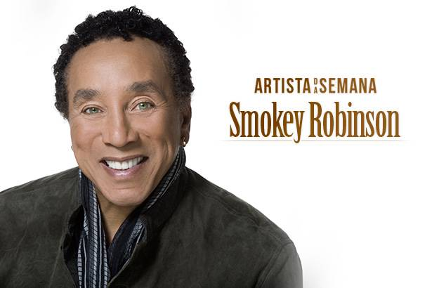 Smokey Robinson é o Artista da Semana! Background