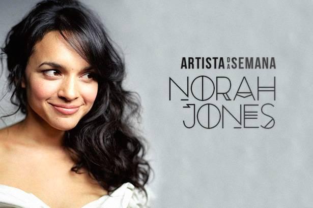 Norah Jones é a Artista da Semana! Background