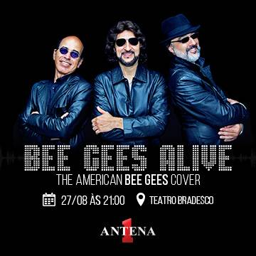 Saiba mais sobre a banda Bee Gees Alive! Background