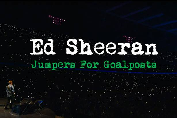 "Filme ""Jumpers For Goalposts"", de Ed Sheeran, será exibido ao vivo em todo o mundo Background"