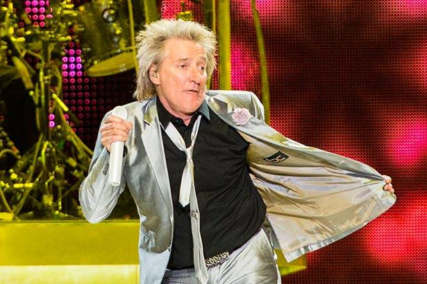 Placeholder - loading - Imagem da notícia Rod Stewart no programa The Tonight Show