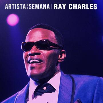 Ray Charles é o Artista da Semana! Background