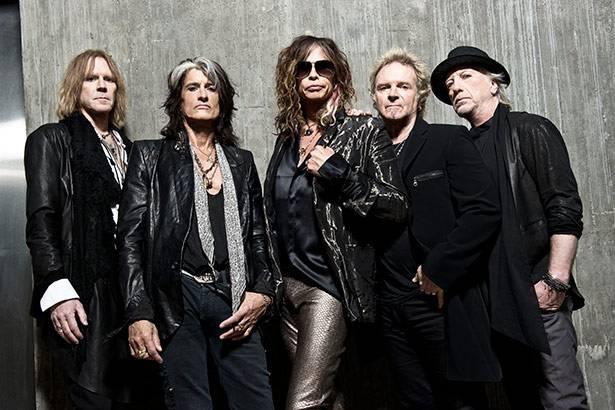Aerosmith fará única apresentação no Brasil em 2016! Background