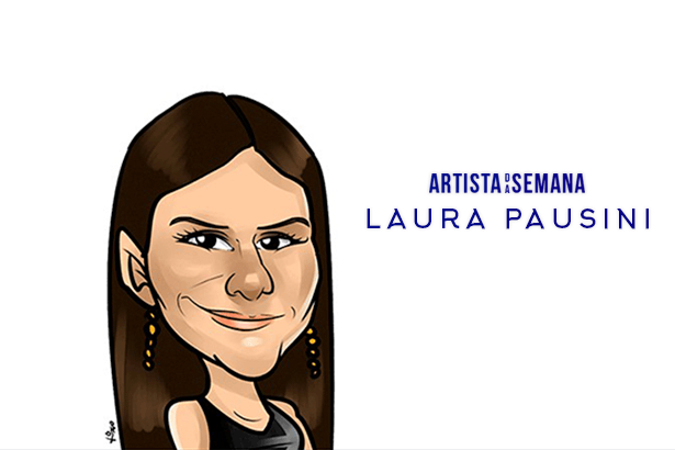 Laura Pausini é a Artista da Semana! Background