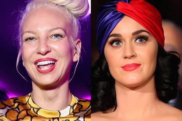 Sia usa rede social para esclarecer comentário sobre Katy Perry Background