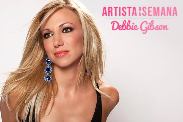 Debbie Gibson é a Artista da Semana Background