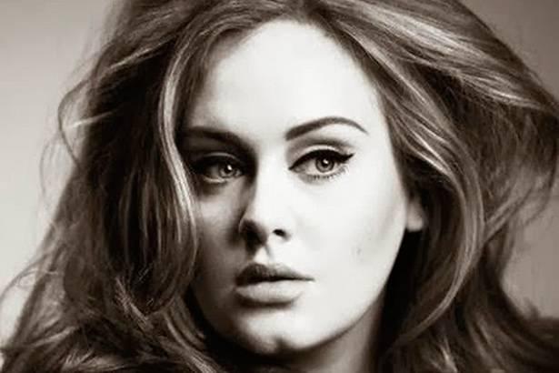 Adele é recordista de vendas de discos em 2015 Background