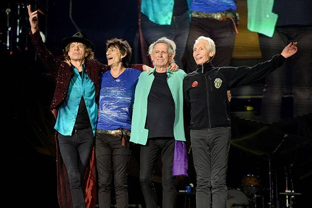 "Rolling Stones fazem primeiro show da ""Olé Tour"", no Chile Background"