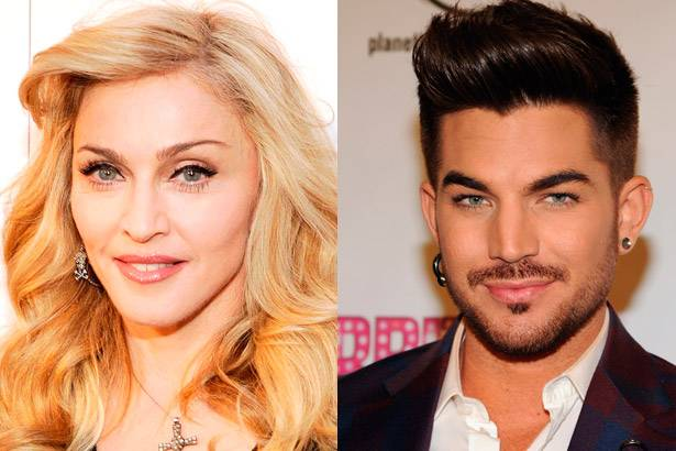 Adam Lambert e Madonna prestam homenagem a David Bowie Background