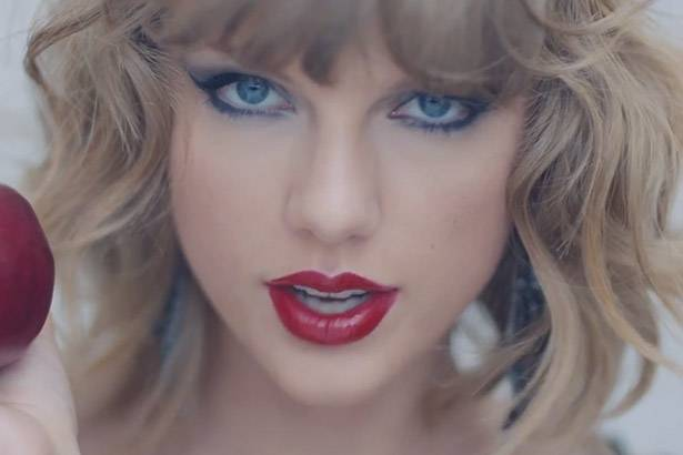 "Clipe de ""Blank Space"", de Taylor Swift, é o mais visualizado da história da VEVO Background"