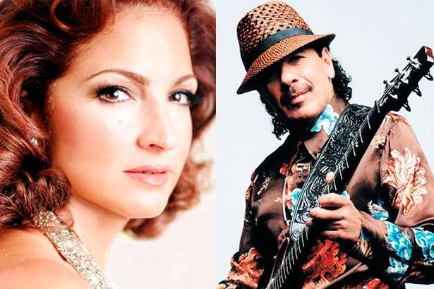 Carlos Santana e Gloria Estefan participarão de música em favor dos latinos Background