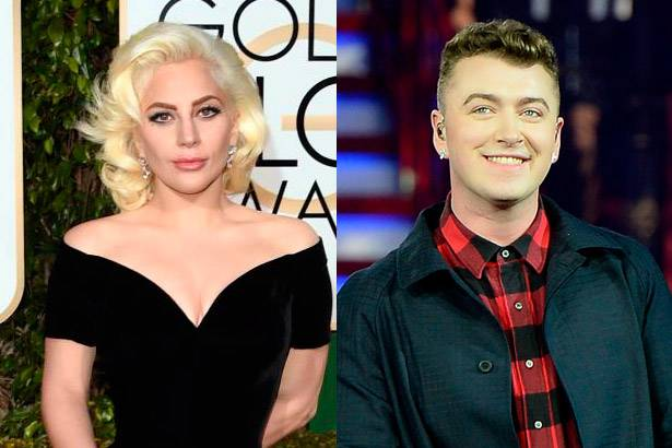 Globo de Ouro premia Sam Smith e Lady Gaga