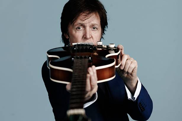 Paul McCartney anuncia nova turnê Background