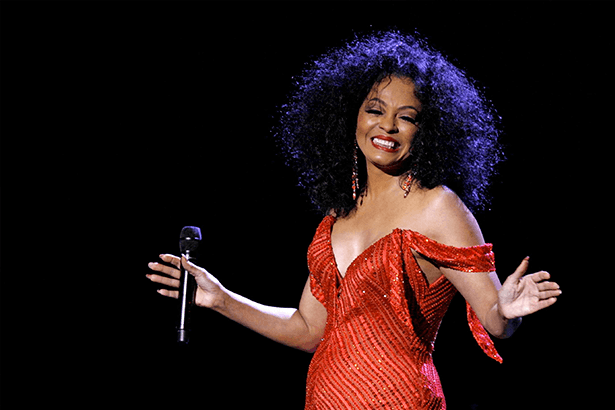 Parabéns, Diana Ross! Background
