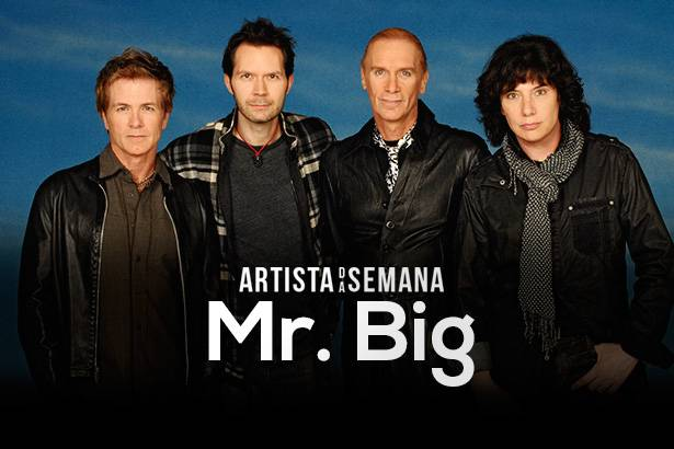 Mr. Big é o Artista da Semana! Background