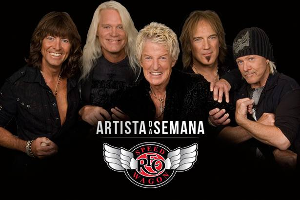 REO Speedwagon é o Artista da Semana Background