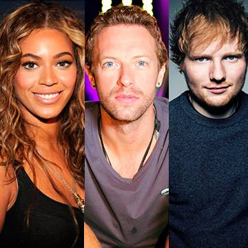 Beyoncé, Coldplay e Ed Sheeran são confirmados no Global Citizen Festival