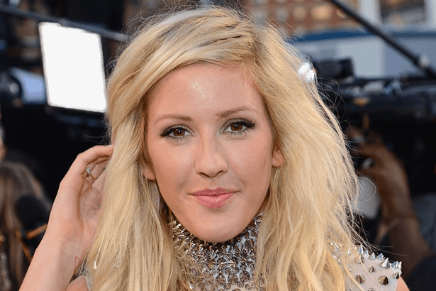 Ellie Goulding anuncia parceria com Calvin Harris Background