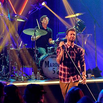 Maroon 5 fará shows no Brasil em 2016 Background