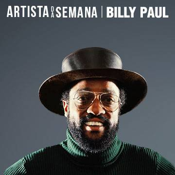 Billy Paul é o Artista da Semana na Antena 1! Background