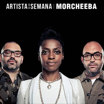 A banda Morcheeba é o Artista da Semana! Background