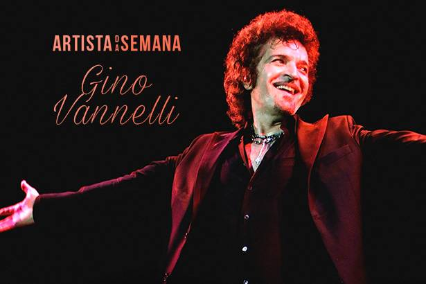 Gino Vannelli é o Artista da Semana! Background