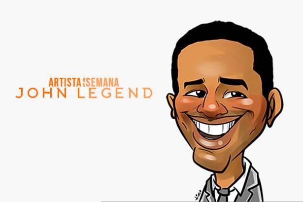 John Legend é o Artista da Semana! Background