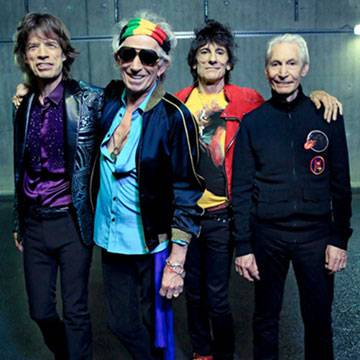"The Rolling Stones tocam ""Champagne & Reefer"" ao lado de Buddy Guy Background"