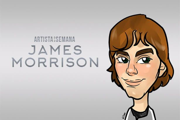 James Morrison é o Artista da Semana Background