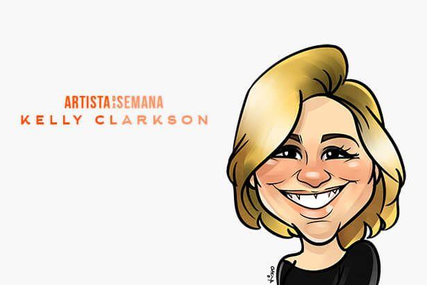 Kelly Clarkson é o Artista da Semana Background