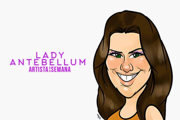 Lady Antebellum é o Artista da Semana Background