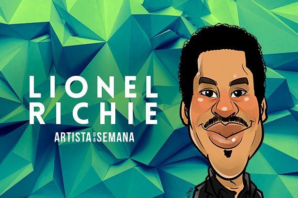 Lionel Richie é o Artista da Semana Background