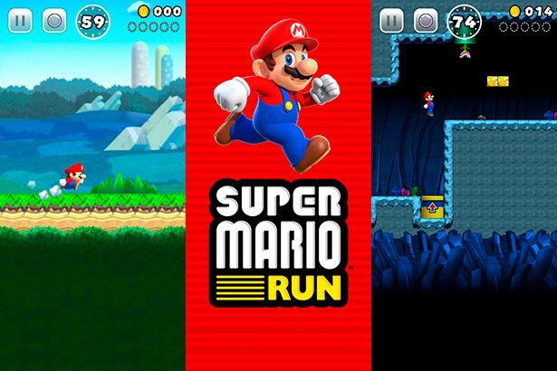 Super Mario Run para Iphone é a grande novidade da semana que vem Background