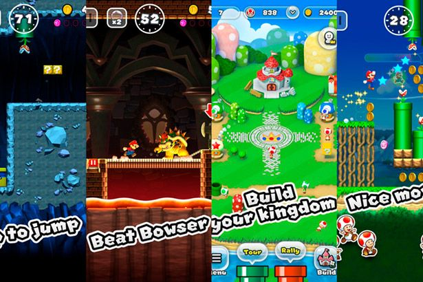 "Placeholder - loading - ""Super Mario Run"" agora está disponível para smartphones Android Background"