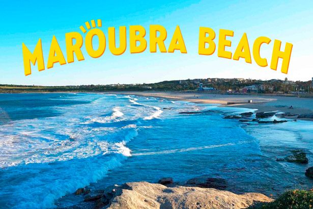 Antena 1 em Sydney: Maroubra Beach Background