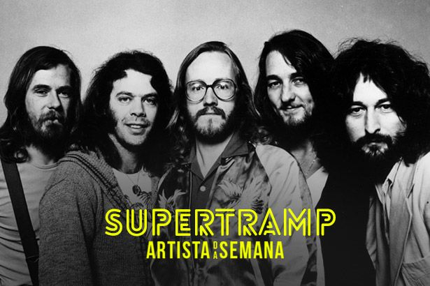 Supertramp é o Artista da Semana Background