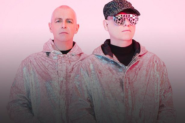 Pet Shop Boys embala a Super Montagem Background