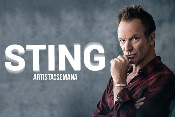 Sting é o Artista da Semana Background