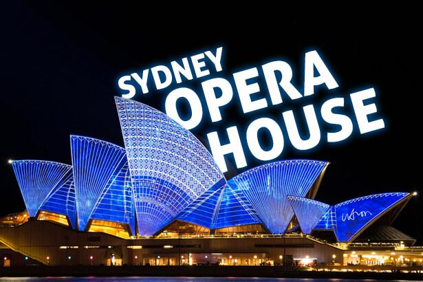 Sydney Opera House: Antena 1 na Austrália Background